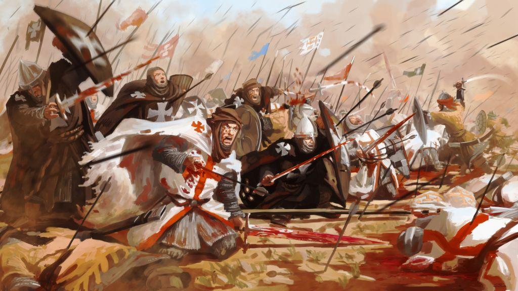 Тамплиеры: Битва при Хаттине